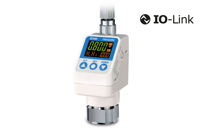 High Precision Digital Pressure Switch with IO-Link