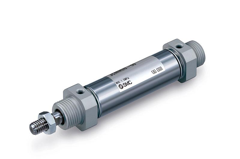 Compact round cylinder