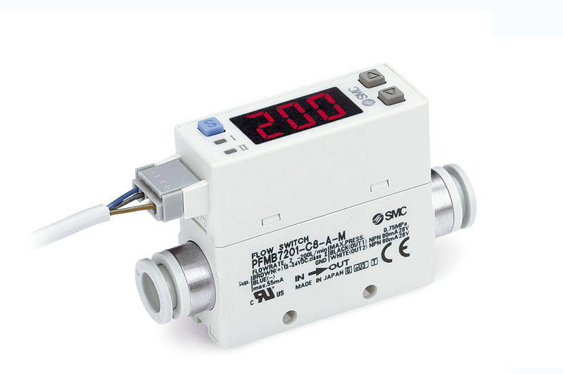 Digital flow switch for low flow