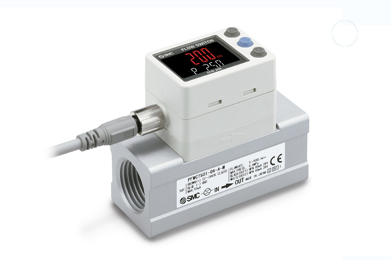 Digital flow switch, PFMC Series