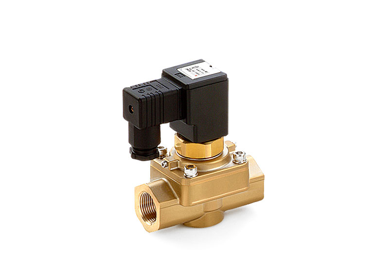 Valves for high-pressure applications up to 50 bar